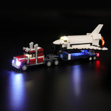 Load image into Gallery viewer, Briksmax Light Kit For Lego 3in1 Shuttle Transporter 31091