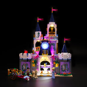 Briksmax Light Kit For Lego Princess Cinderella's Dream Castle 41154