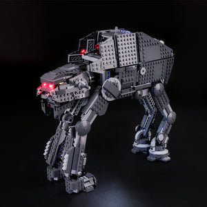 Briksmax Light Kit For Lego First Order Heavy Assault Walker 75189