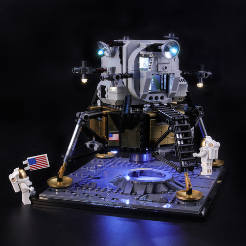 Briksmax Light Kit For Lego NASA Apollo 11 Lunar Lander 10266