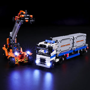 Briksmax Light Kit For Lego Container Yard 42062