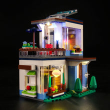 Load image into Gallery viewer, Briksmax Light Kit For Lego Modular Modern Home 31068