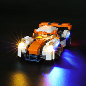 Briksmax Light Kit For Lego Sunset Track Racer 31089