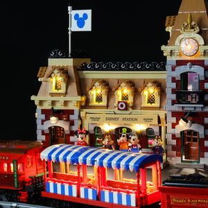 Briksmax Light Kit For Lego Disney Train and Station 71044