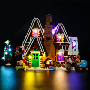 Briksmax Light Kit For Lego Gingerbread House 10267