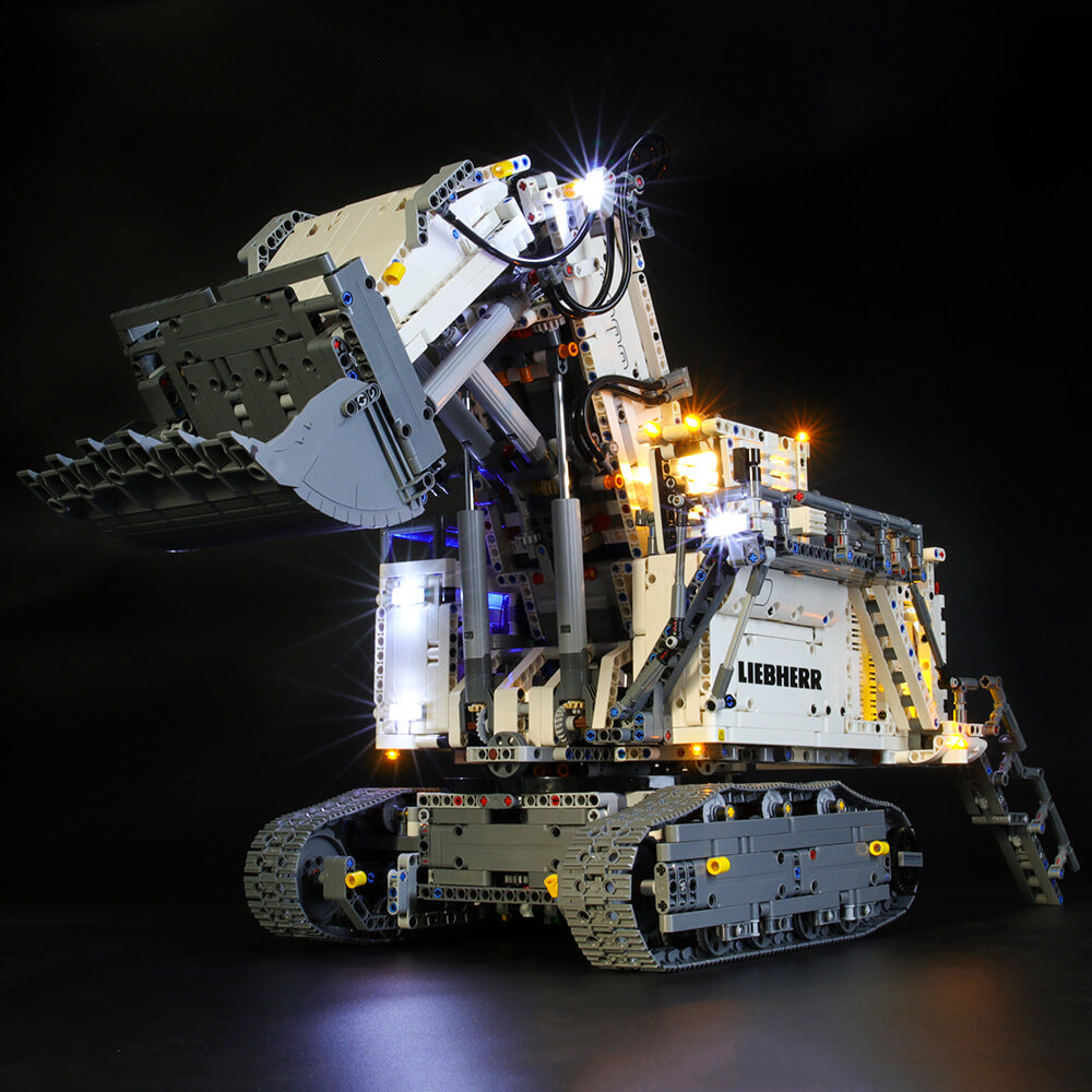 Briksmax Light Kit For Lego Liebherr R 9800 42100