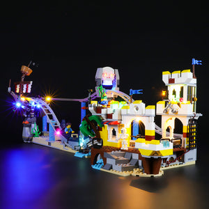 Briksmax Light Kit For Lego Pirate Roller Coaster 31084