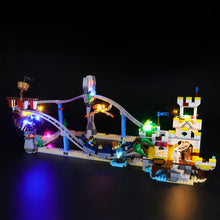 Load image into Gallery viewer, Briksmax Light Kit For Lego Pirate Roller Coaster 31084