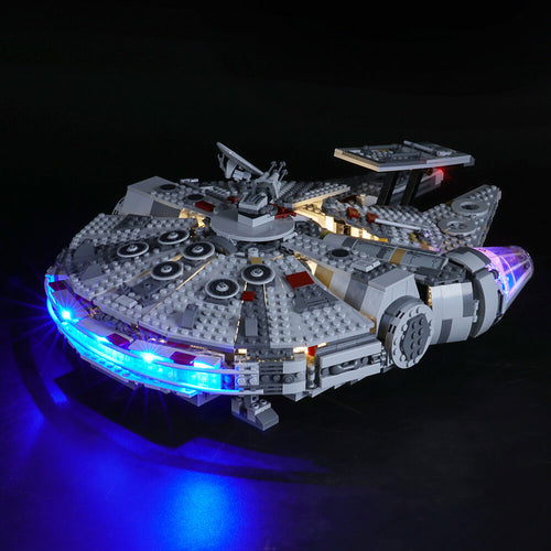 Briksmax Light Kit For Lego Millennium Falcon 75257