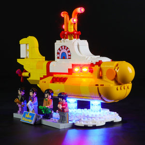 Briksmax Light Kit For Lego Yellow Submarine 21306