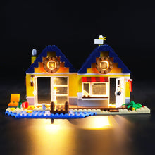 Load image into Gallery viewer, Briksmax Light Kit For Lego Beach Hut 31035