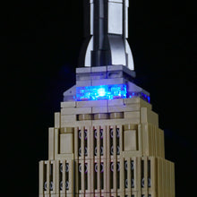 Load image into Gallery viewer, Briksmax Light Kit For Lego Empire State Building 21046