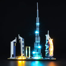 Load image into Gallery viewer, Briksmax Light Kit For Lego Dubai 21052