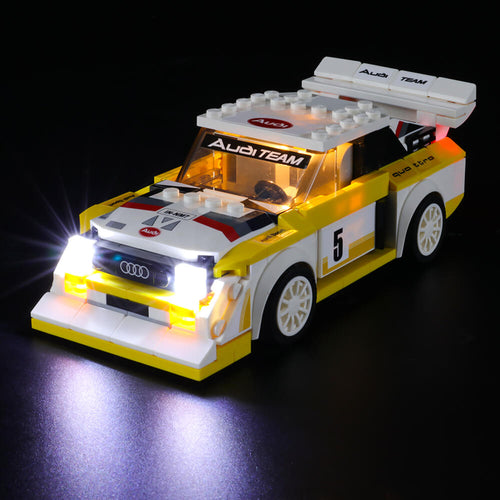 Briksmax Light Kit For Lego 1985 Audi Sport Quattro S1 76897
