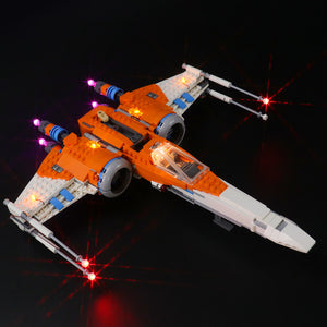 Briksmax Light Kit For Lego Poe Dameron's X-wing Fighter 75273