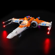 Load image into Gallery viewer, Briksmax Light Kit For Lego Poe Dameron's X-wing Fighter 75273