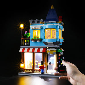 Briksmax Light Kit For Lego Townhouse Toy Store 31105