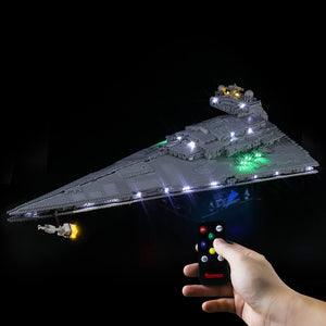 Briksmax Light Kit For Lego Imperial Star Destroyer 75252