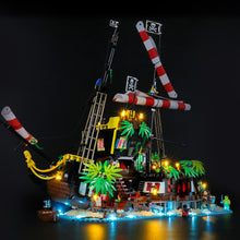 Load image into Gallery viewer, Briksmax Light Kit For Lego Pirates of Barracuda Bay 21322