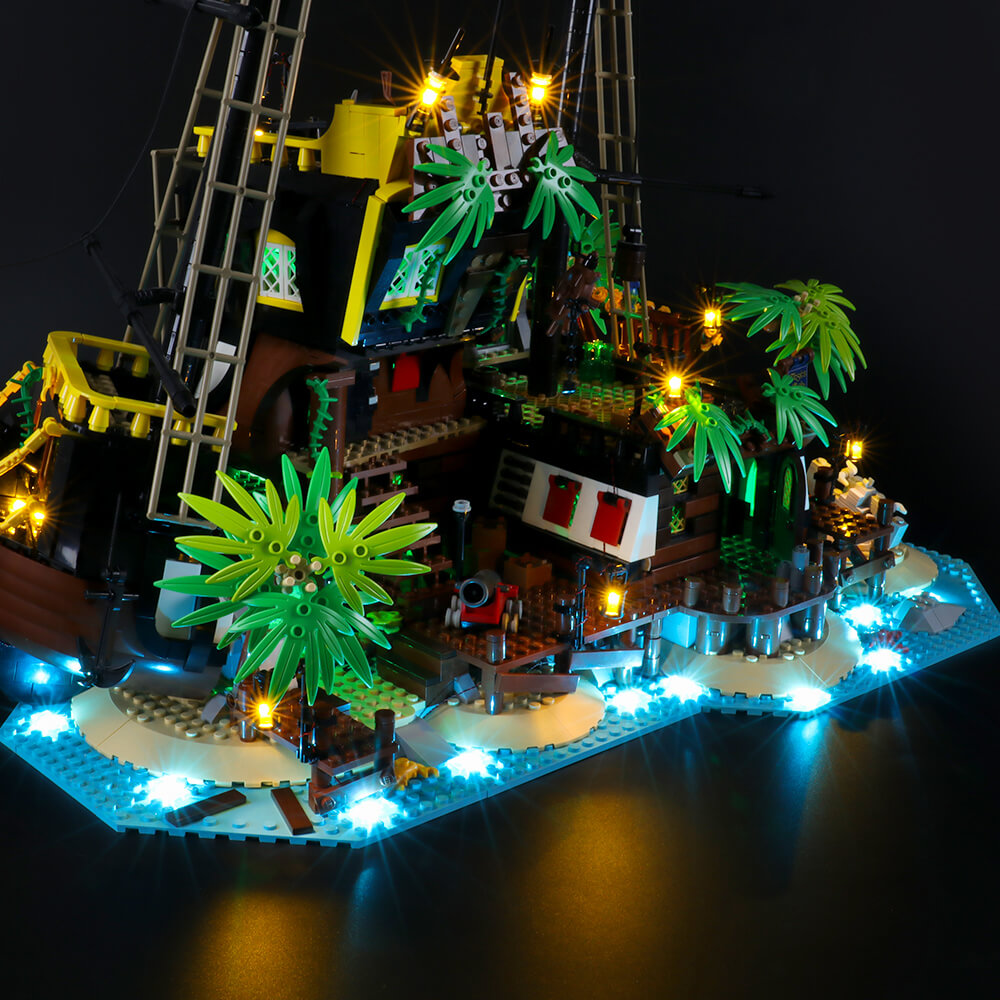 Briksmax Light Kit For Lego Pirates of Barracuda Bay 21322
