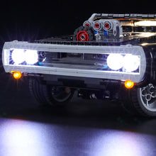 Load image into Gallery viewer, Briksmax Light Kit For Lego Technic Dom's Dodge Charger 42111
