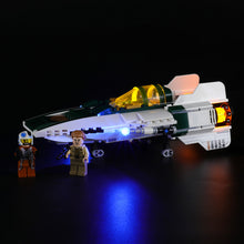 Load image into Gallery viewer, Briksmax Light Kit For Lego Resistance A-Wing Starfighter 75248