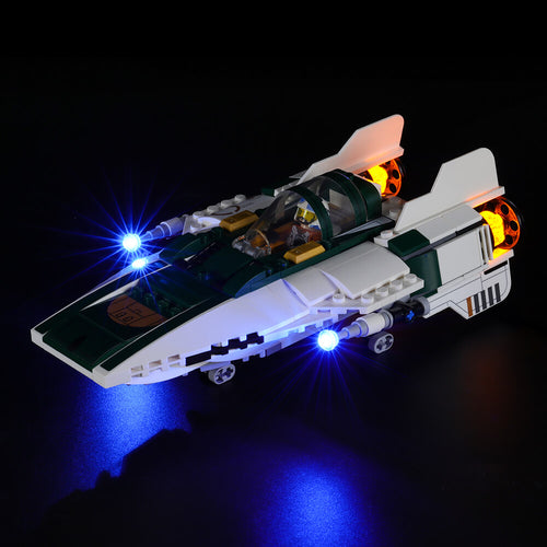 Briksmax Light Kit For Lego Resistance A-Wing Starfighter 75248
