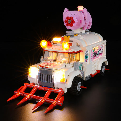 Briksmax Light Kit For Lego Monkie Kid Pigsy's Food Truck 80009