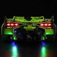 Load image into Gallery viewer, Briksmax Light Kit For Lego Lamborghini Sián FKP 37 42115