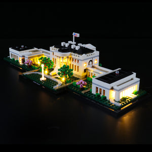 Briksmax Light Kit For Lego The White House 21054