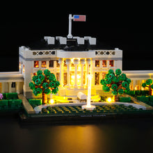 Load image into Gallery viewer, Briksmax Light Kit For Lego The White House 21054