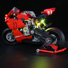 Load image into Gallery viewer, Briksmax Light Kit For Lego Technic™ Ducati Panigale V4 R 42107