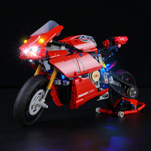 Briksmax Light Kit For Lego Technic™ Ducati Panigale V4 R 42107