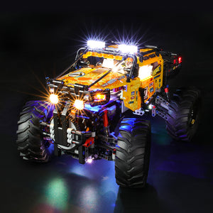 Briksmax Light Kit For Lego 4X4 X-treme off-roader 42099