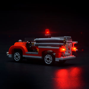 Briksmax Light Kit For Lego Fire Brigade 10197