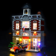 Load image into Gallery viewer, Briksmax Light Kit For Lego Fire Brigade 10197