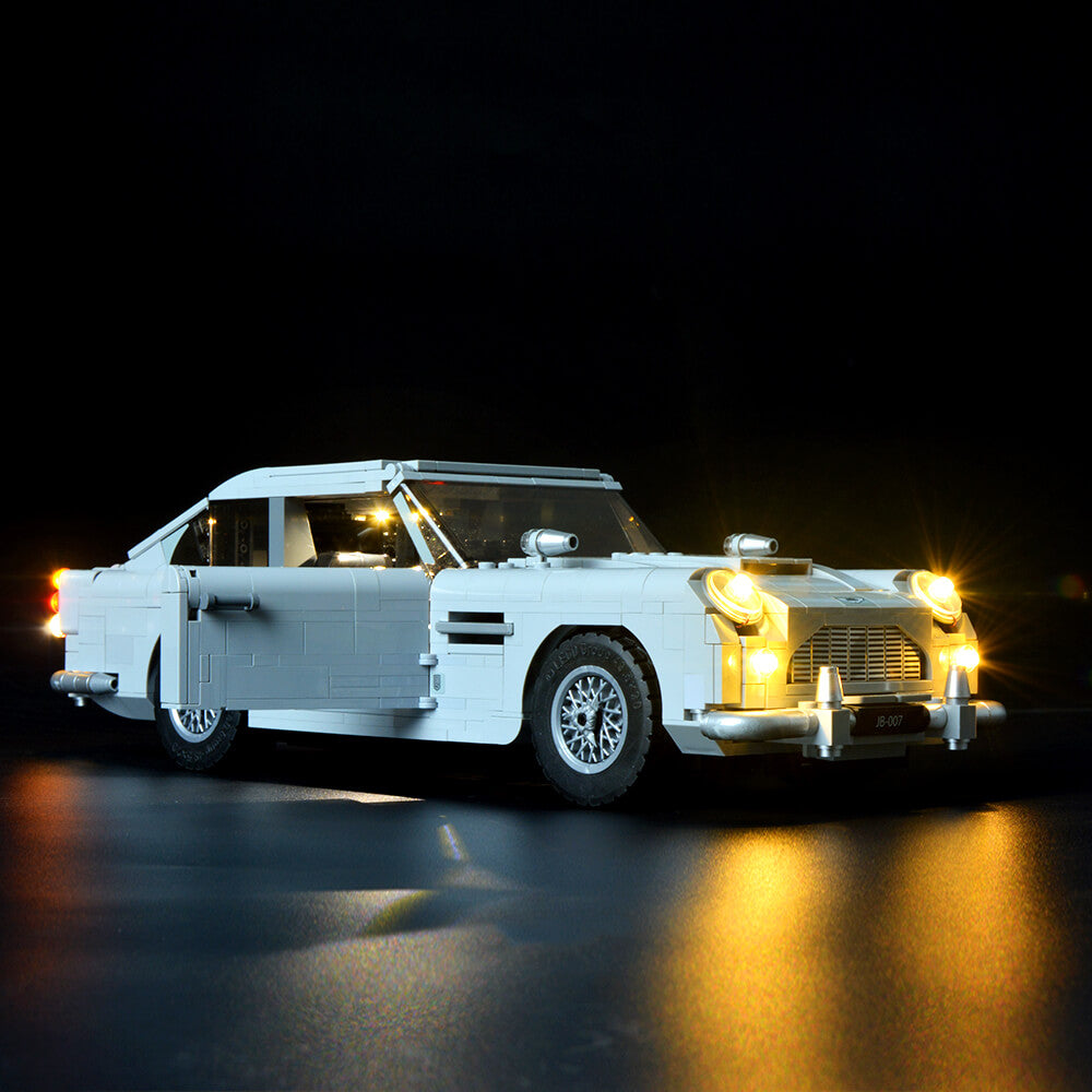 Briksmax Light Kit For Lego James Bond Aston Martin DB5 10262