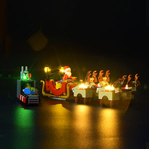 Briksmax Light Kit For Lego Santa's Workshop 10245