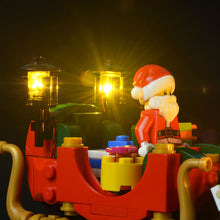 Load image into Gallery viewer, Briksmax Light Kit For Lego Santa's Workshop 10245