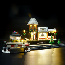 Load image into Gallery viewer, Briksmax Light Kit For Lego Winter Village Station 10259