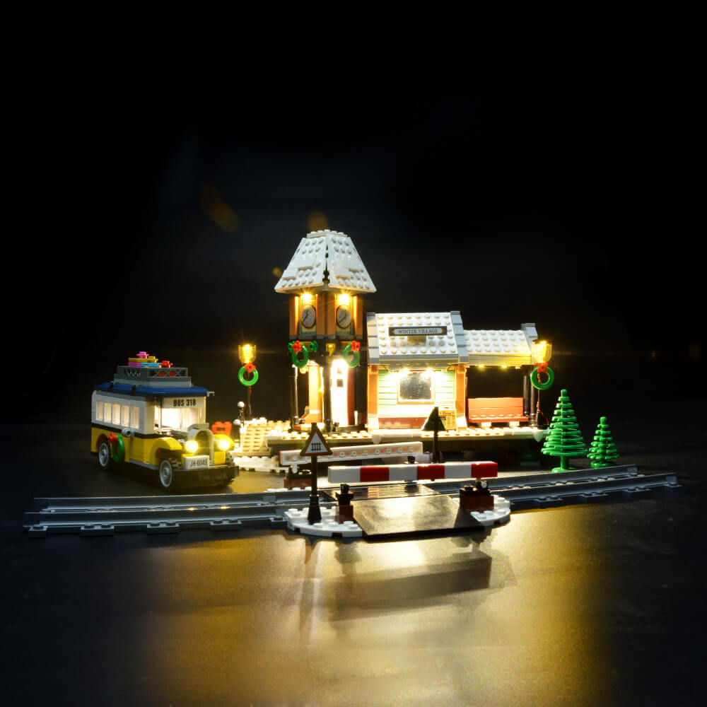 Briksmax Light Kit For Lego Winter Village Station 10259