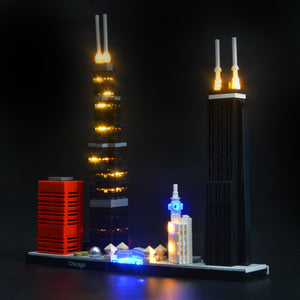 Briksmax Light Kit For Lego Chicago 21033