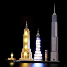 Load image into Gallery viewer, Briksmax Light Kit For Lego New York City 21028