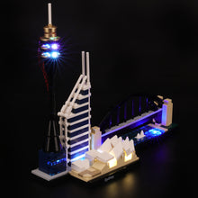 Load image into Gallery viewer, Briksmax Light Kit For Lego Sydney 21032