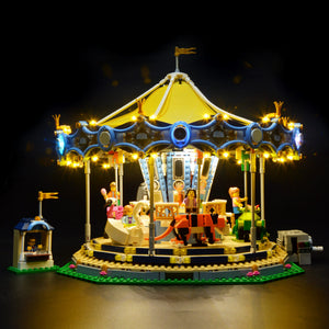 Briksmax Light Kit For Lego The New Carousel Set 10257