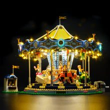 Load image into Gallery viewer, Briksmax Light Kit For Lego The New Carousel Set 10257