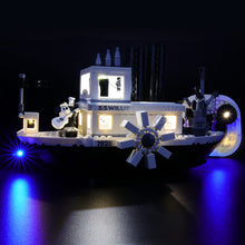 Load image into Gallery viewer, Briksmax Light Kit For Lego Steamboat Willie 21317