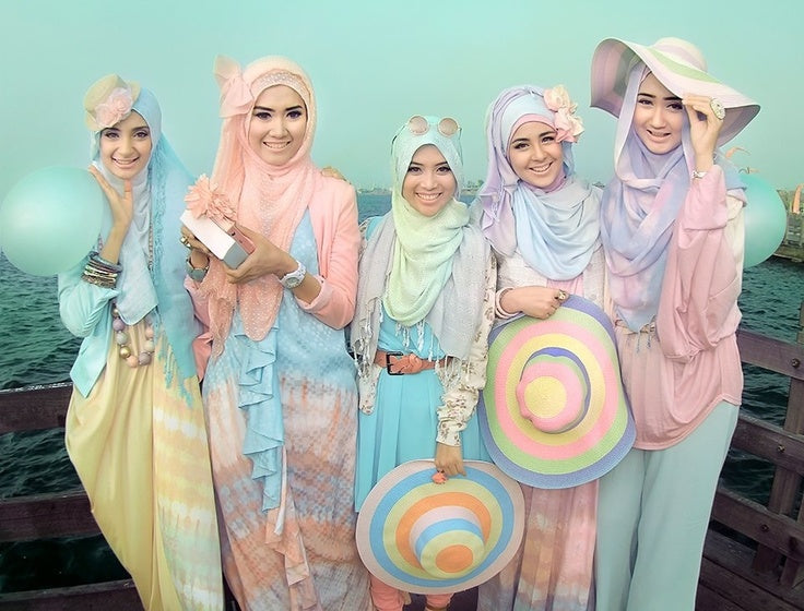 Pastel Hijab & Abaya Colors for a Dainty Summer Look