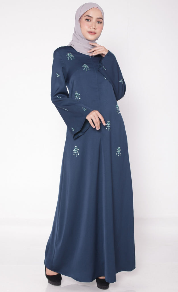 Exclusive Nursing Abaya Teal