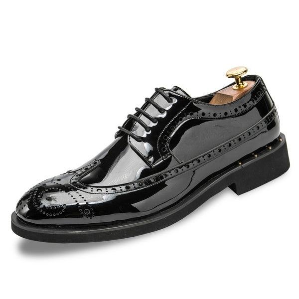 British Handmade Leather Business Leather Bullock Shoe